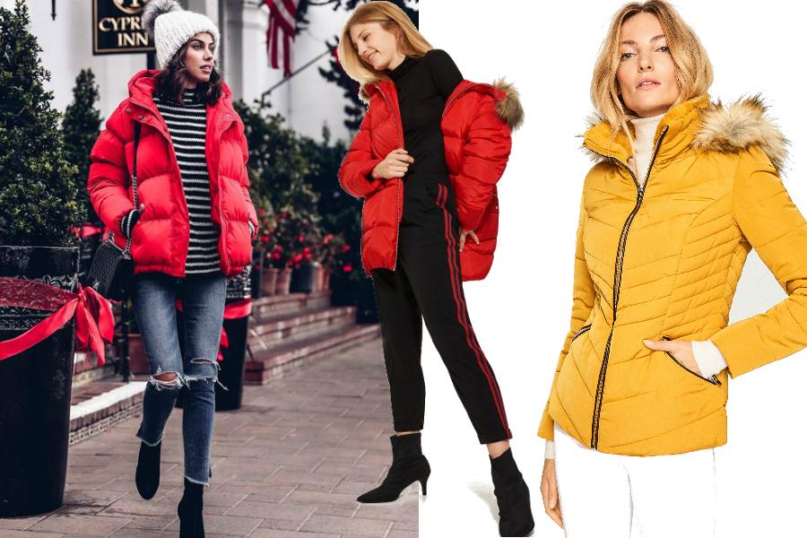5cb8850b7b7c4 Kolorowe kurtki puchowe: ożyw swoje jesienne stylizacje