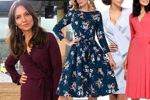 b53e48518f Te sukienki są idealne na Wielkanoc! Kopertowa w stylu Kingi Rusin jest  hitem tej wiosny i pasuje do każdej figury