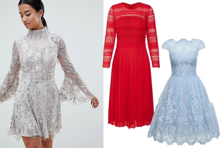 139fa37036 Sukienki na ślub cywilny koronkowe  materiały partnera