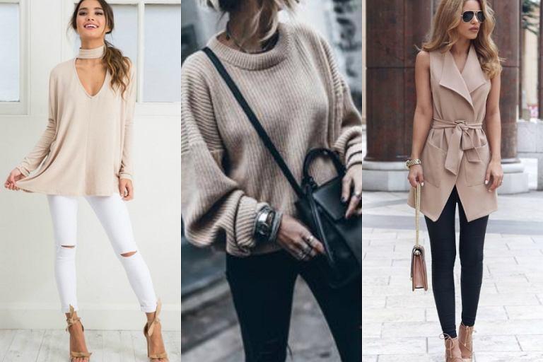 a913c417104e Beżowe ubrania - wybierz coś dla siebie w jednym z.