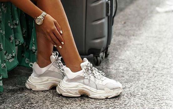 b38e8ea11e8da Trampki na platformie i sneakersy na grubej podeszwie