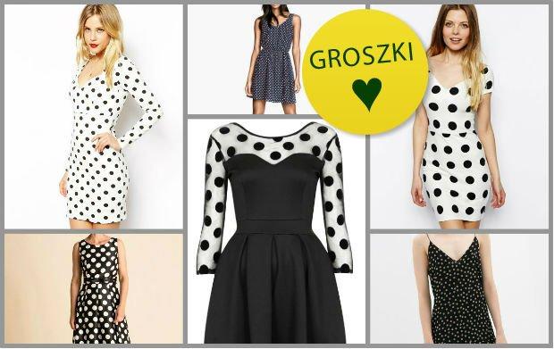 eb1f660249 Sukienki w groszki na wiosnę i lato. Najładniejsze modele z nowych kolekcji