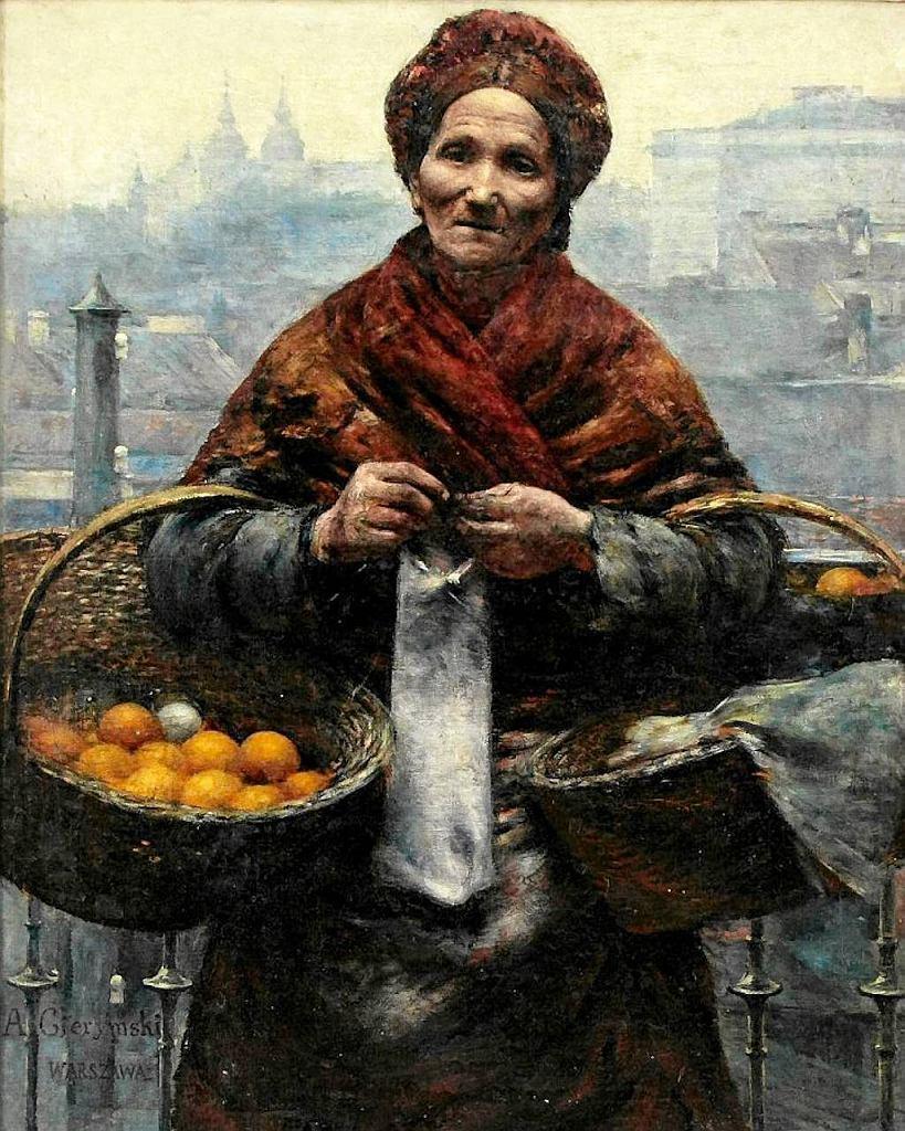 'Pomarańczarka' Aleksandra Gierymskiego