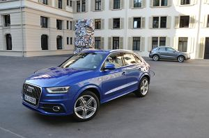 Audi Q3 - test   Pierwsza jazda
