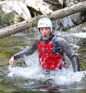 Kanioning ,szkocja, sporty ekstremalne