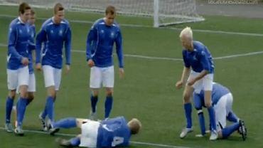 Piłkarze Stjarnan w reklamie