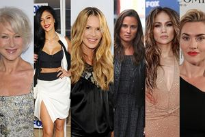 Helen Mirren, Elle Macpherson, Pippa Middleton, Kate Winslet, Jennifer Lopez