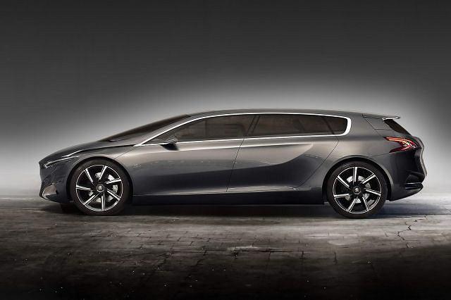 Peugeot HX1 Hybrid4 MPV Concept
