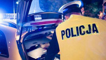 Policja, wypadek