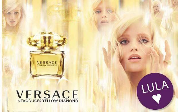 Nowa kampania perfum Versace - Yellow Diamond
