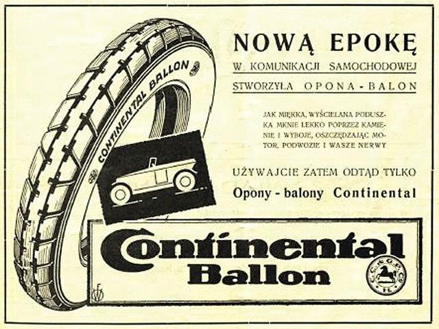 Continental obchodzi w tym roku 100 lat obecności na ziemiach Polskich