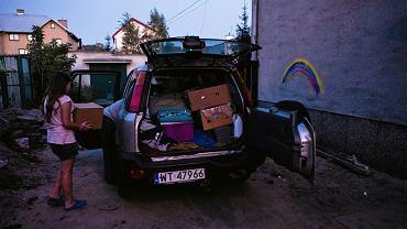 Mieszkańcy ulicy Marsa pakują się i wyprowadzają z domu