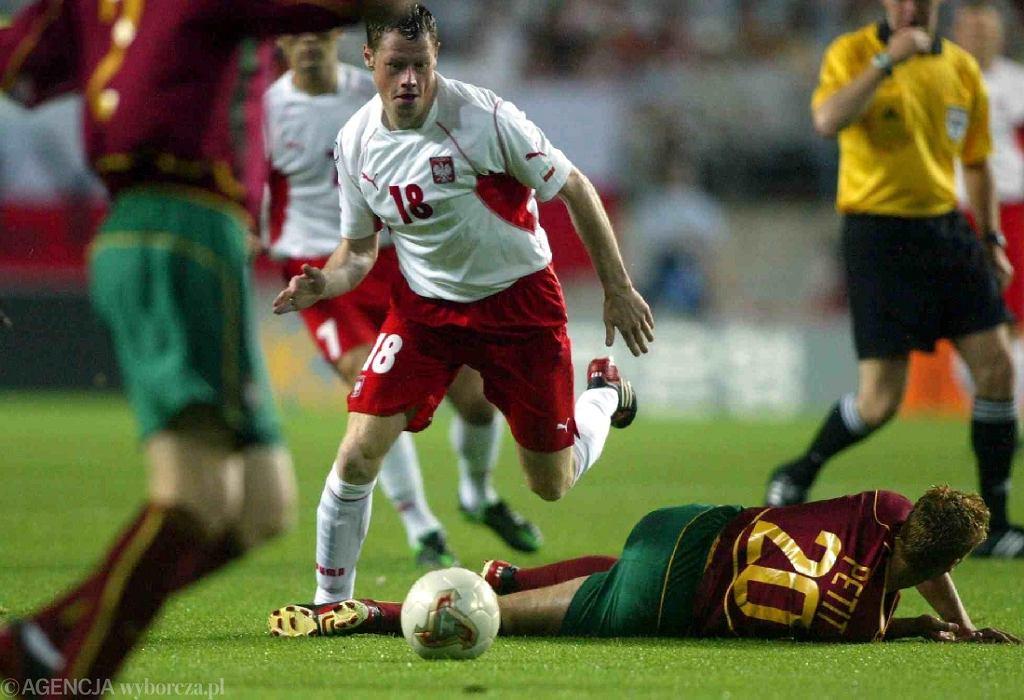 Mistrzostwa świata w piłce nożnej 2002 w Korei i Japonii, mecz Polska - Portugalia