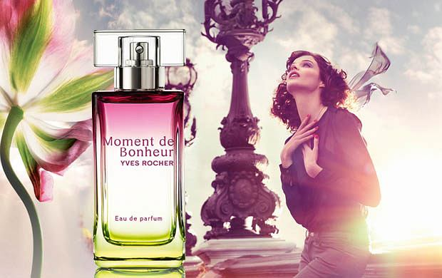 Nowe perfumy Yves Rocher - Moment de Bonheur