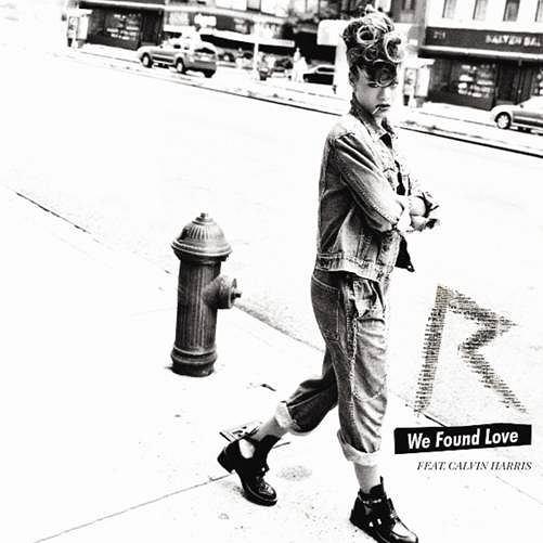 Rihanna 'We Found Love' fot. Universal Music Polska