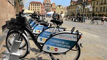 Rowery miejskie we Wrocławiu
