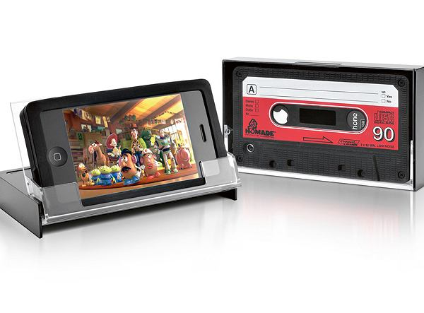 iPhone'a. Retro Cassette Tape Case