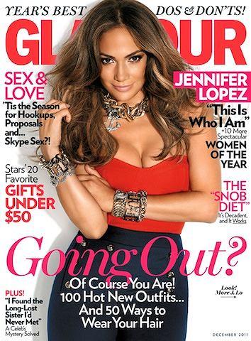 Zdjęcie numer 5 w galerii - J.Lo na okładce nowego Glamour