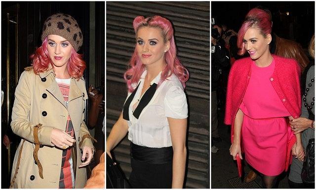 Katy Perry i jej retro fryzury