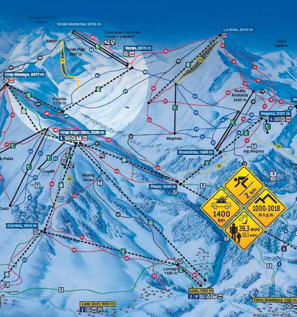 Narty w Alpach. Vorab - Szwajcaria