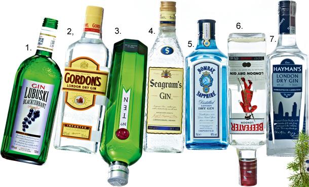 gin, alkohol