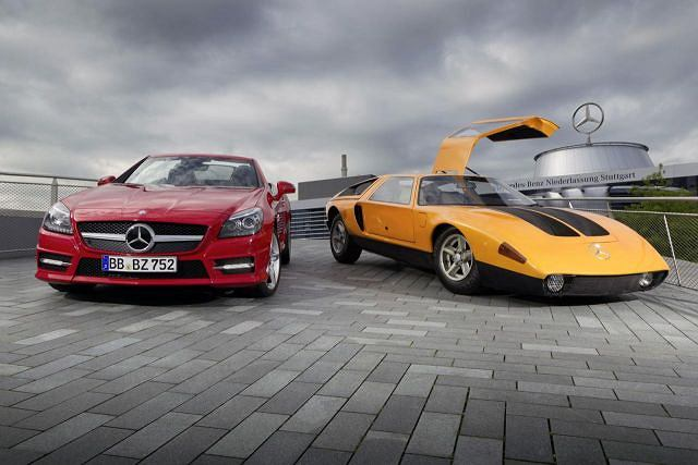 Mercedes SLK 250 CDI & Mercedes C111-II D