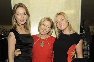 Małgorzata Potocka podczas rozdania Złotych Kaczek pozowała do zdjęć z córkami. Piękne dziewczyny zrobiły furorę. Kim one są?
