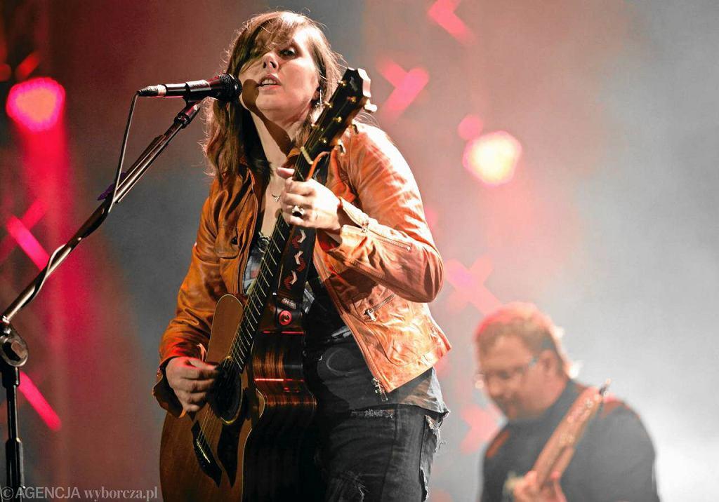 Edyta Bartosiewicz na Orange Warsaw Festival, rok 2010