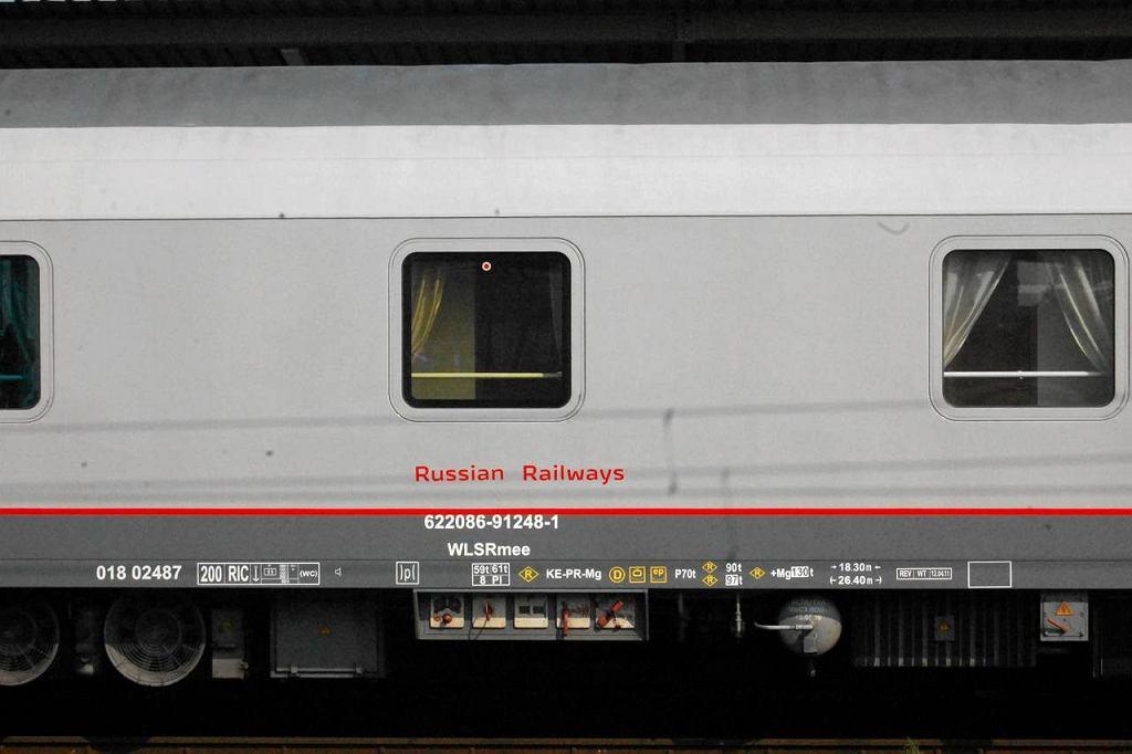 Pociąg rosyjskich kolei
