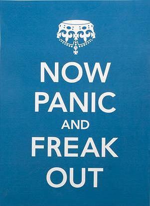 jedna z wersji Keep Calm and Carry On