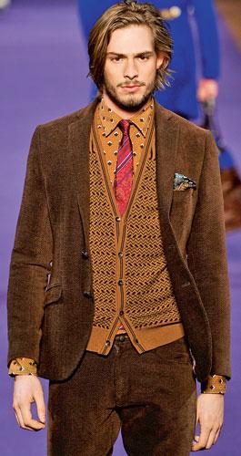 mucha, krawat, koszula, Etro
