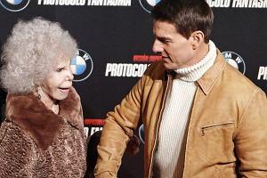 Księżna Alby i Tom Cruise.