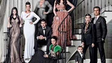 Kartka rodziny Kardashian z 2010 roku