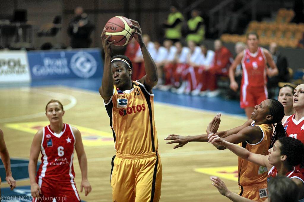 Koszykarki Lotosu Gdynia (żółte stroje)