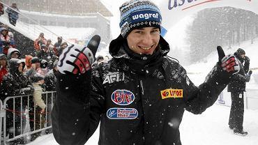 Kamil Stoch podczas MP w 2009 roku