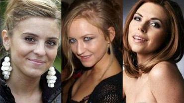 Kasia Tusk, Julia Oleksy, Aleksandra Kwaśniewska.