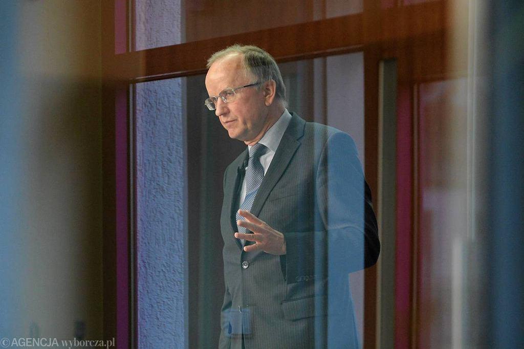 Profesor Grzegorz Kołodko podczas Forum Inwestycyjnego, Kielce 2011 r.
