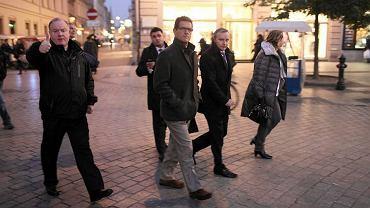 Angielska delegacja z selekcjonerem Fabio Capello na czele zwiedza Kraków
