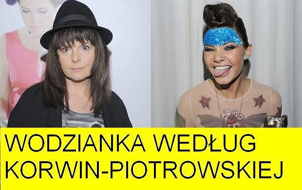 Karolina Korwin-Piotrowska i Dominika Wodzianka.