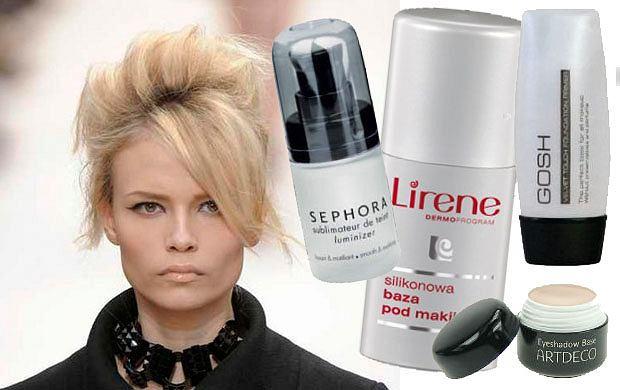 Kosmetyki utrwalające makijaż
