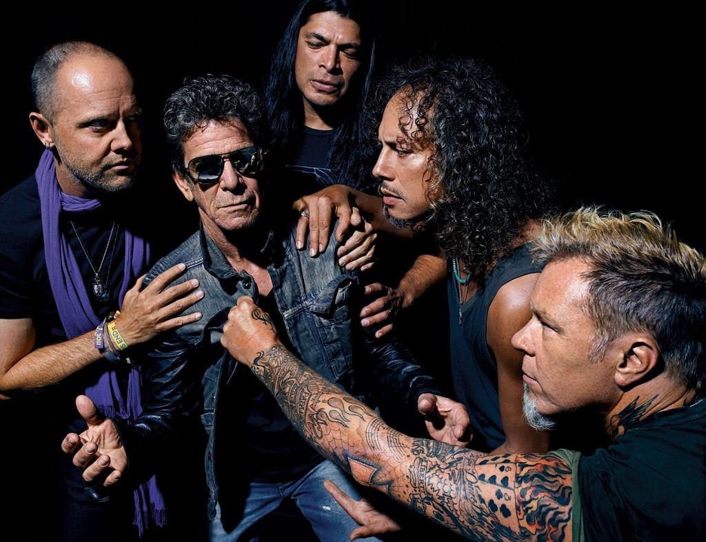 Lou Reed i Metallica fot. Universal Music Polska