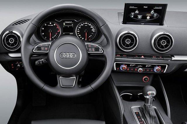 Wnętrze nowego Audi A3