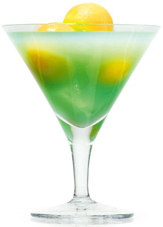 alkohol, drinki, Rocky Ford Melon