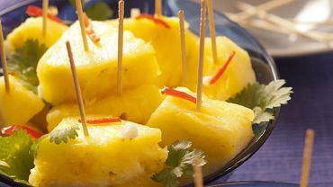 Ananas na ostro