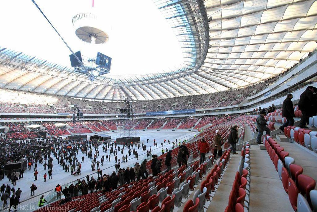 Tłumy na otwarciu Stadionu Narodowego