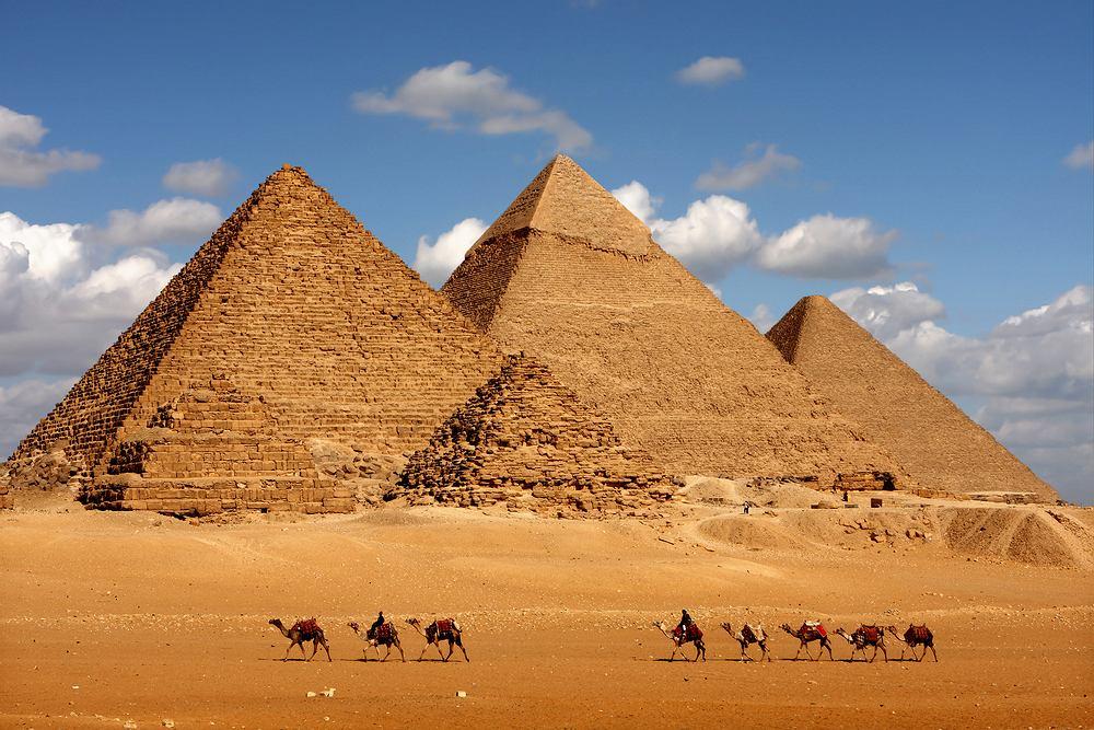 Egipt wczasy - piramidy, Egipt zabytki
