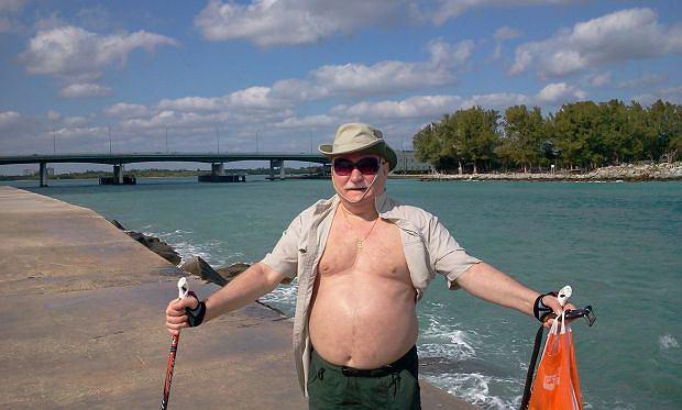 Lecha Wałęsa wypoczywa w Miami