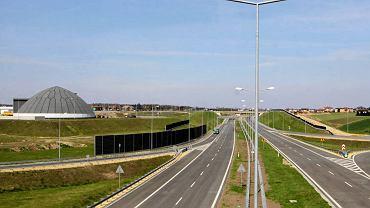 Autostrada A1, węzeł w Świerklanach