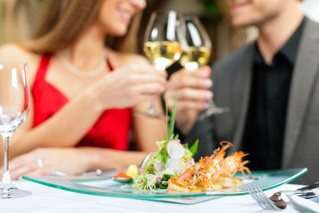 Walentynkowa kolacja