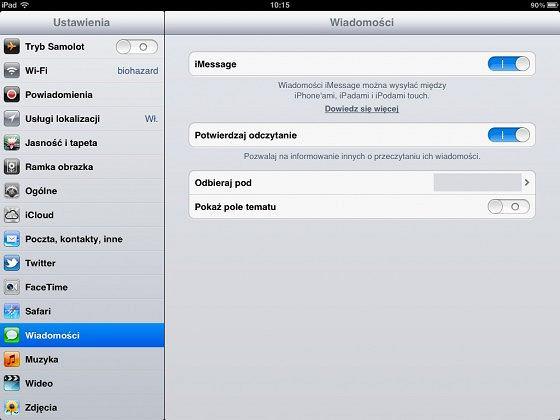 Włączamy automatyczne powiadomienia odczytania wiadomości w iMessage